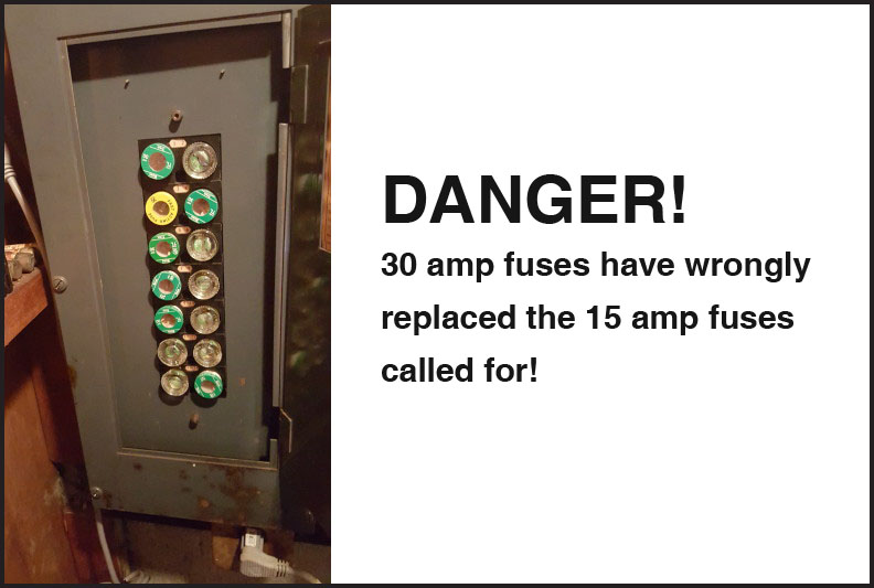 what's so bad about fuses? able electrical contracting on 30 Amp Wiring for 30 amp fuse box #32 at 30 amp fuse box dryer